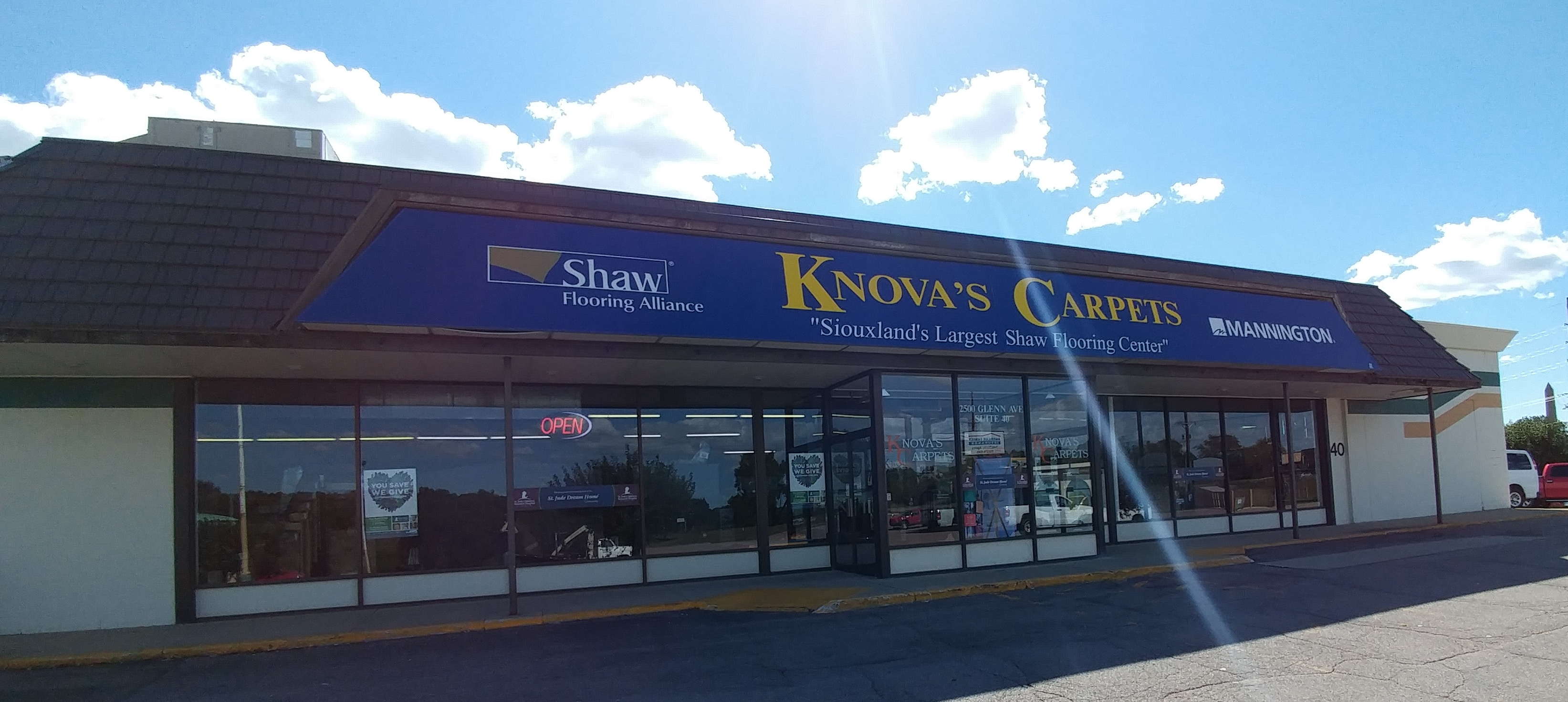 Welcome to Knova\'s Carpets, Inc. in Sioux City